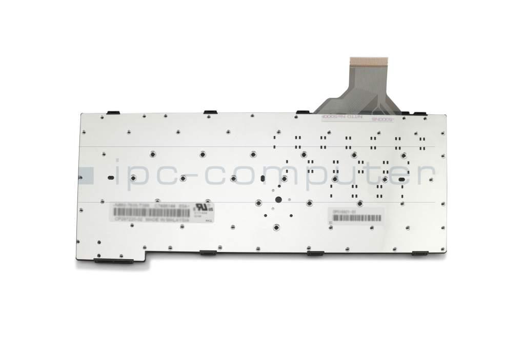 Keyboard DE (german) white original suitable for Fujitsu